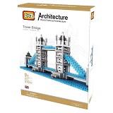 LOZ Blocks Tower Bridge [9371] - Building Set Architecture